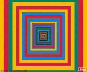 puzzel Concentrische pleinen