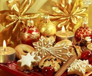 puzzel Cookies voor Kerstmis