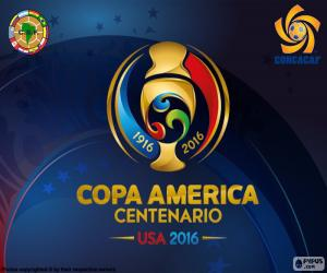 puzzel Copa América Centenario 2016 logo