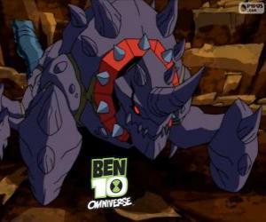 puzzel Crabdozer is de Nemetrix Aliens, Ben 10 Omniversum