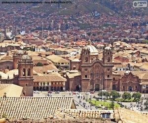 puzzel Cuzco, Peru
