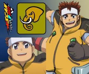 puzzel Daigo Takayama van Scan2Go heeft de kracht van de olifant