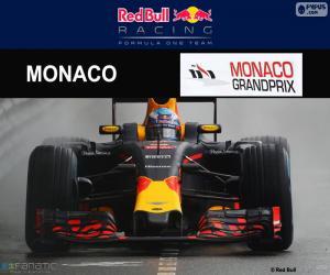 puzzel Daniel Ricciardo, Grand Prix van Monaco 2016