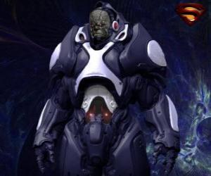 puzzel Darkseid, tiran van een verre wereld van Apokolips genoemd kosmische goden.
