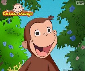 puzzel De aap George
