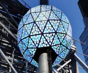 puzzel De bal van het Nieuwjaar, Times Square, Manhattan, New York