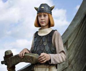 puzzel De beroemde Wickie de Viking
