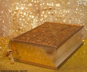 puzzel De Bijbel van de christelijke godsdienst