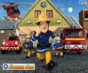 puzzel De brandbestrijders van Pontypandy
