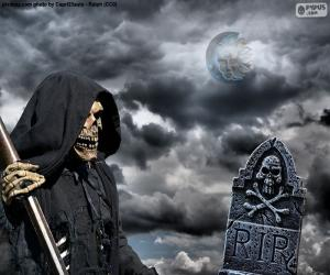 puzzel De dood, Halloween