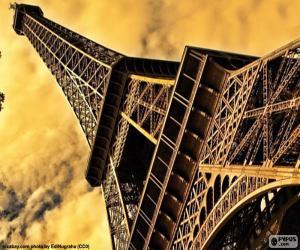 puzzel De Eiffeltoren, Parijs