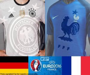 puzzel DE-FR, halve finales Euro 2016