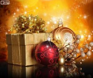 puzzel De gift van Kerstmis