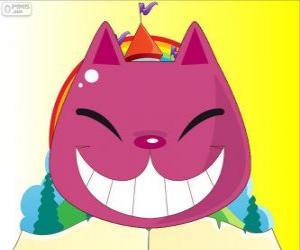 puzzel De glimlach van de Cheshire Kat