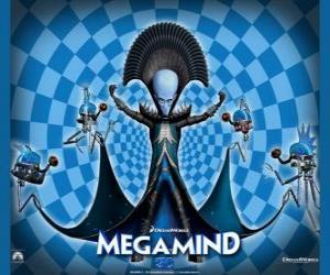 puzzel De grote Megamind