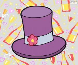 puzzel De hoge hoed van de bruidegom