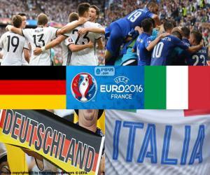 puzzel DE-IT, kwartfinale Euro 2016