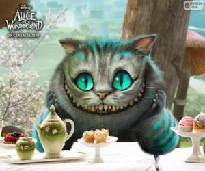 puzzel De kat van Cheshire