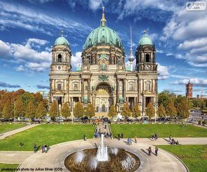 puzzel De Kathedraal van Berlijn, Duitsland