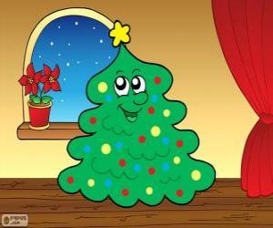 puzzel De Kerstmis spar