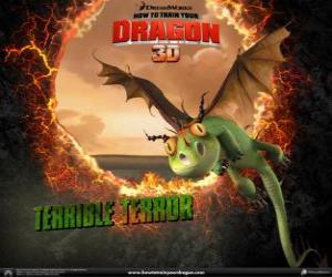 puzzel De kleinste draken zijn de Terribele Tiran, zijn ze meestal in koppels
