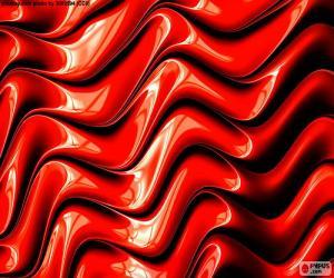puzzel De kleur rood