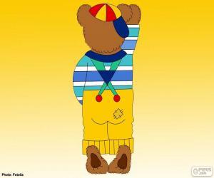 puzzel De letter I van beren