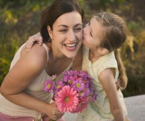 puzzel De liefde van een dochter voor haar moeder