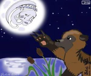 puzzel De maan en de beer