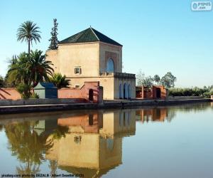 puzzel De Menara, Marokko
