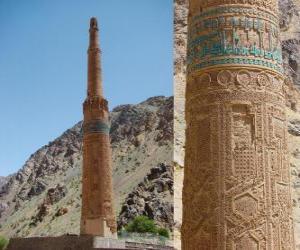 puzzel De Minaret van Jam, Afghanistan