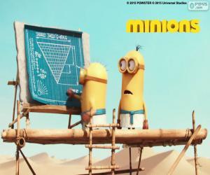 puzzel De minions in Egypte