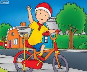 puzzel De nieuwe fiets van Callou