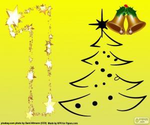 puzzel De nummer 1, Kerstmis