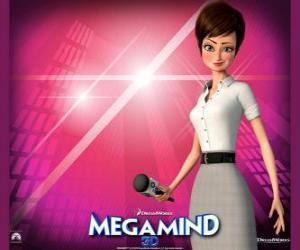 puzzel De prachtige reporter Roxanne Ritchi van die verliefd is op Megamind