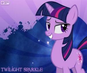 puzzel De Princess Twilight Sparkle is super slim