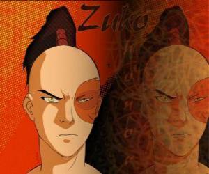 puzzel De Prins Zuko is verbannen van de Vuurnatie en wil de Avatar Aang te vangen om zijn eer te herstellen