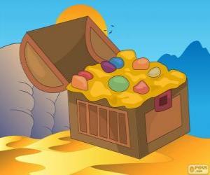 puzzel De schatkist van Aladdin