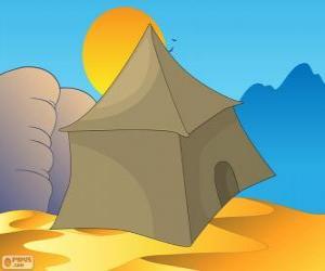 puzzel De tent van de bedoeïenen in de woestijn, Khayma