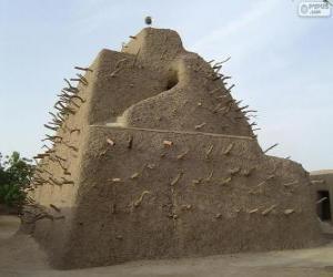 puzzel De tombe van Askia in Gao, Mali