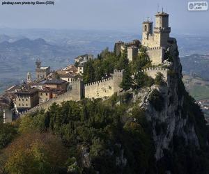 puzzel De Toren van Guaita, San Marino