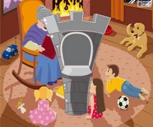 puzzel De toren van het kasteel