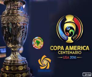 puzzel De trofee van de Copa América Centenario 2016