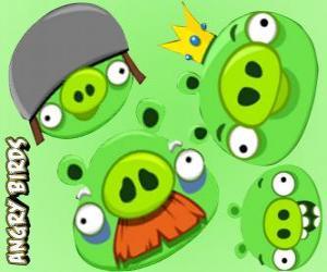 puzzel De varkens van Angry Birds