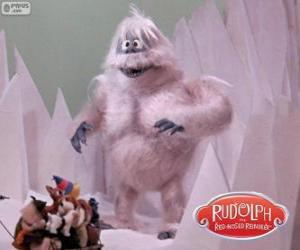 puzzel De Verschrikkelijke sneeuwman van het noorden