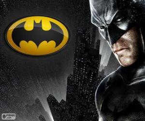 puzzel De vleermuis man, de superheld, Batman