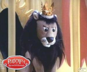 puzzel De vliegende Leeuw, Koning Moonracer