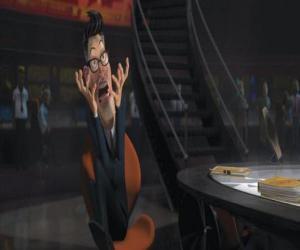 puzzel De voorzitter Hathaway