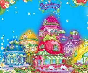 puzzel De wereld van Strawberry Shortcake