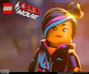 puzzel De Wilde, een vrije geest van de film van Lego